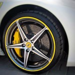 Yellow AlloyGator alloy wheel protectors