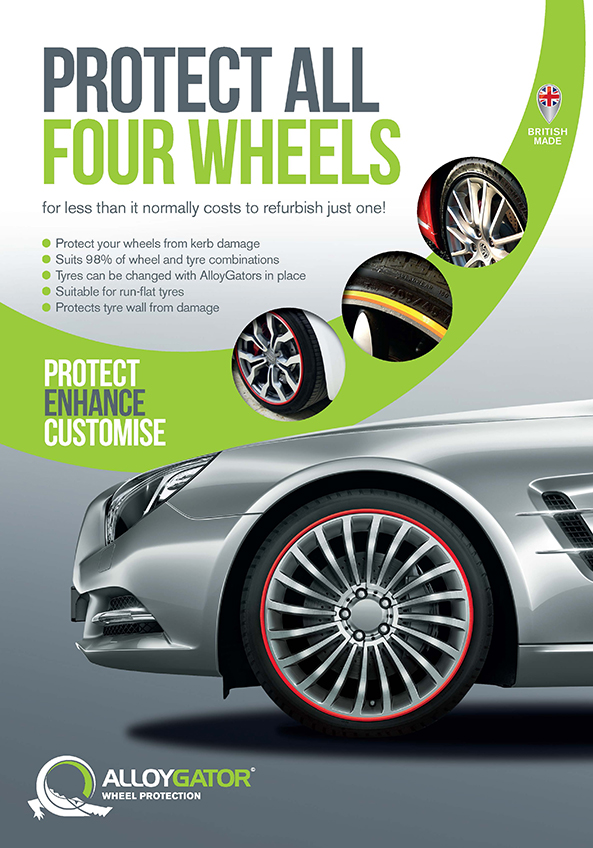 Wheel Protech Alloy Gator Advert - Protect all 4 wheels for less than the usual cost of refurbishing one